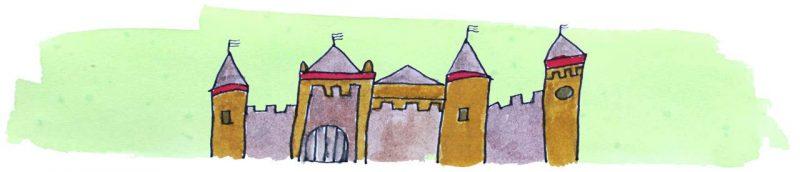 Illustratie door Jantien Baas: De drie rovers – Tomi Ungerer