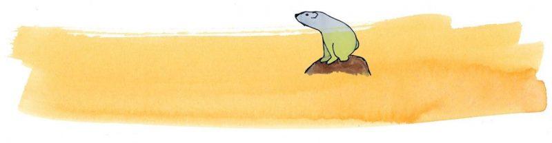 Illustratie door Jantien Baas: Het eiland – Marije Tolman & Ronald Tolman