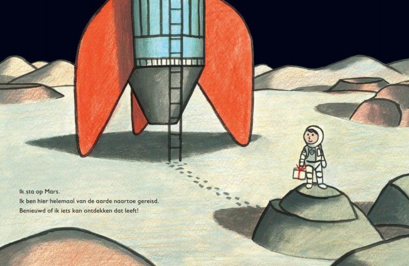 Is er leven op Mars? - Jon Agee