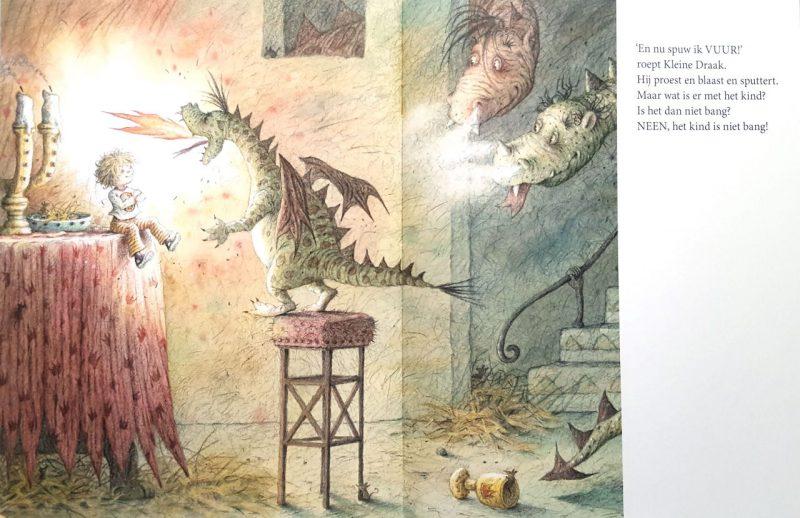 Kleine draak - Lieve Baeten