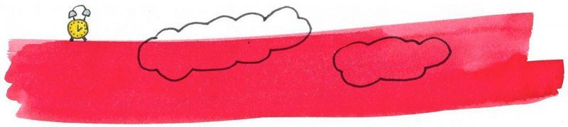 Illustratie door Jantien Baas: Middernacht, als de monsters komen – Victor Spoormaker, Bouwien Jansen & Alette Straathof