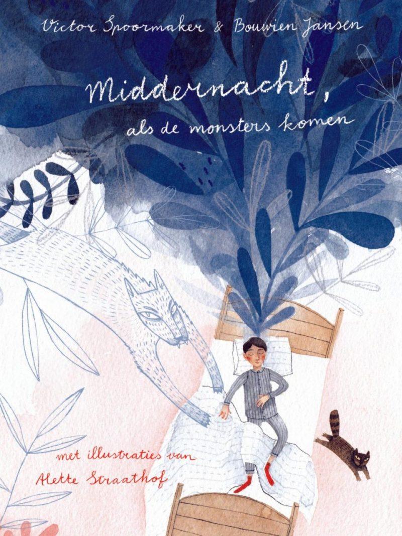 Middernacht, als de monsters komen - Victor Spoormaker, Bouwien Jansen & Alette Straathof