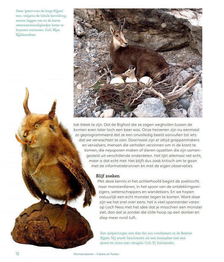 Monsterdieren - fabels en feiten - Jet Bakels & Anne-Marie Boer