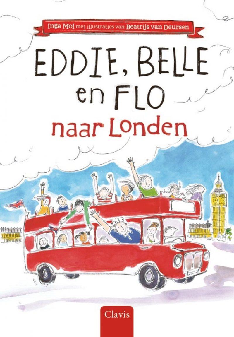 Eddie, Belle en Flo naar Londen - Inga Mol & Beatrijs van Deursen