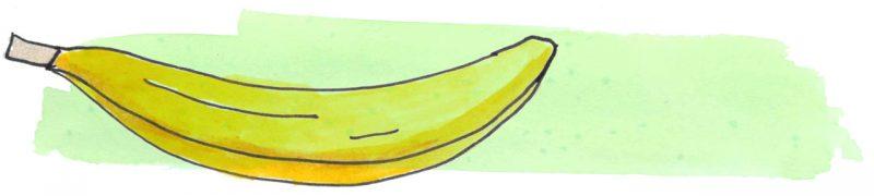 Illustratie door Jantien Baas: Haren vol Banaan – Erik van Os & Noëlle Smit