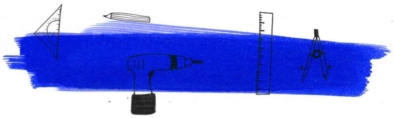 Illustratie door Jantien Baas: Roza Rozeur, Ingenieur – Andrea Beaty & David Roberts