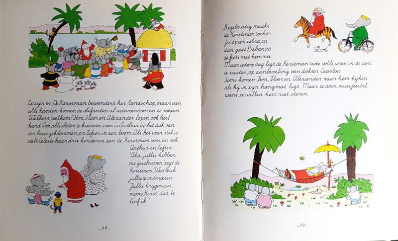 Babar en de Kerstman - Jean de Brunhoff