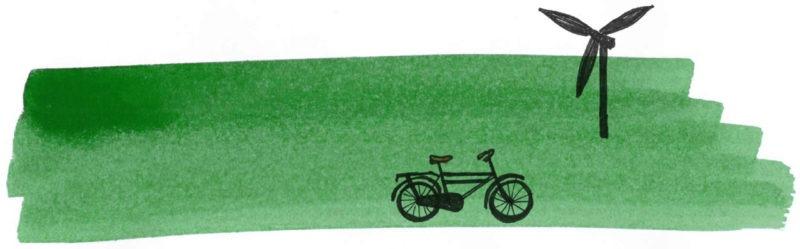Illustratie door Jantien Baas: Groene voeten – Lotte Stegeman & Maartje Kuiper