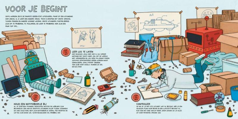 Mijn gekke uitvindingen schetsboek - Andrew Rae & Lisa Regan