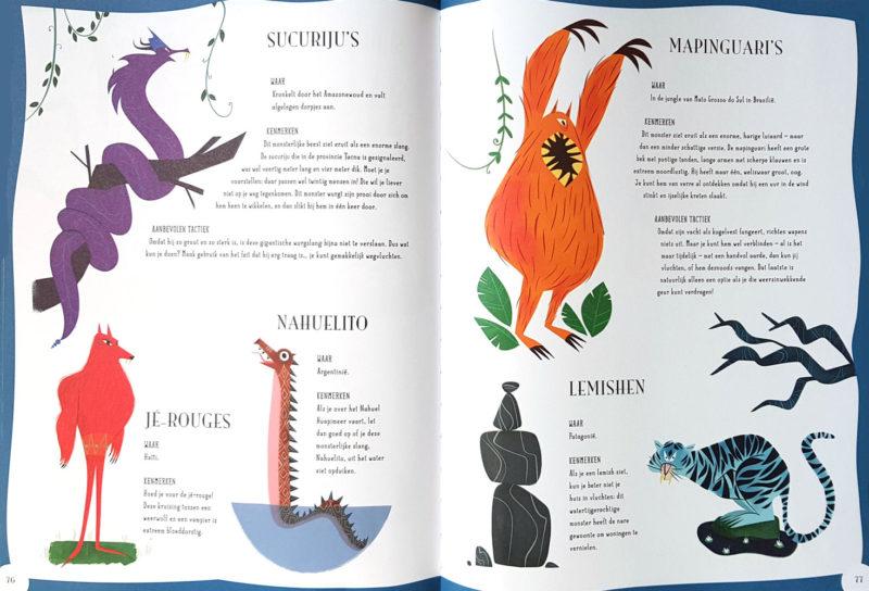 De Grote Monster Atlas - Federica Magrin & Laura Brenlla