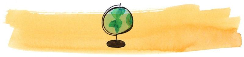Illustratie door Jantien Baas: De wondere werking van planeet aarde – Rachel Ignotofsky