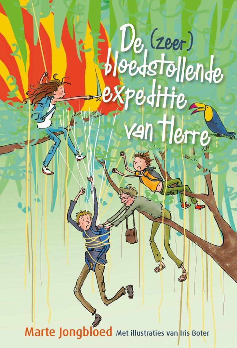 De (zeer) bloedstollende expeditie van Herre - Marte Jongbloed & Iris Boter