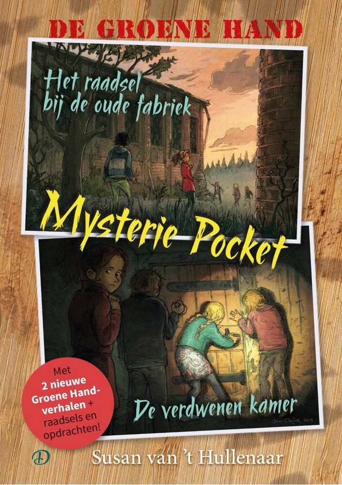 De Groene Hand Mysterie Pocket - Susan van 't Hullenaar