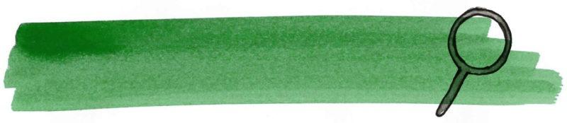 Illustratie door Jantien Baas: De Groene Hand Mysterie Pocket – Susan van 't Hullenaar