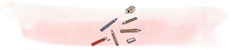 Illustratie door Jantien Baas: Het grote groene doeboek