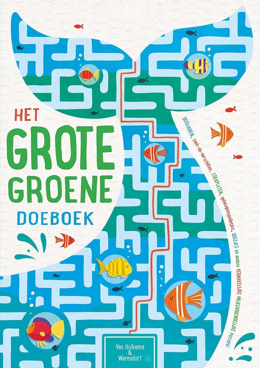 Het grote groene doeboek   de Kinderboekenbaas
