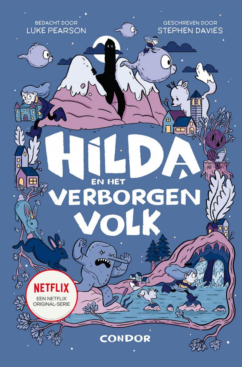 Hilda en het verborgen volk - Luke Pearson, Stephen Davies & Seaerra Miller