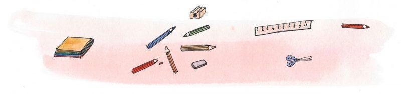 Illustratie door Jantien Baas: Doeboekweek op de Kinderboekenbaas!