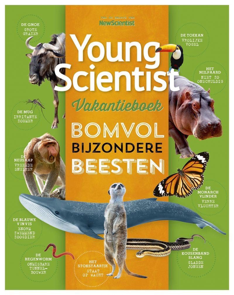Young Scientist Vakantieboek Zomer 2020: bomvol bijzondere beesten!