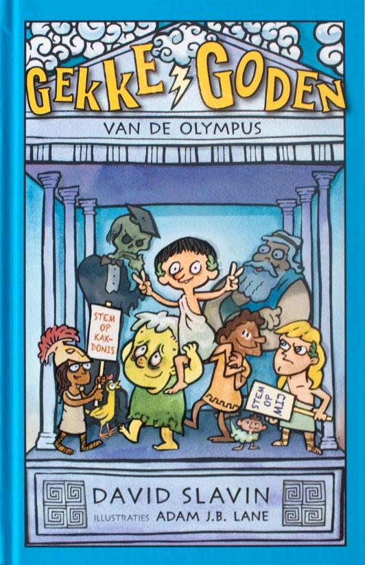 Gekke goden van de Olympus -David Slavin & Adam J.B. Lane