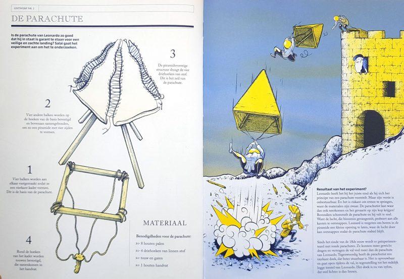 De gekke machines van Leonardo Da Vinci - Nathalie Lescaille-Moulènes &Renaud Vigourt