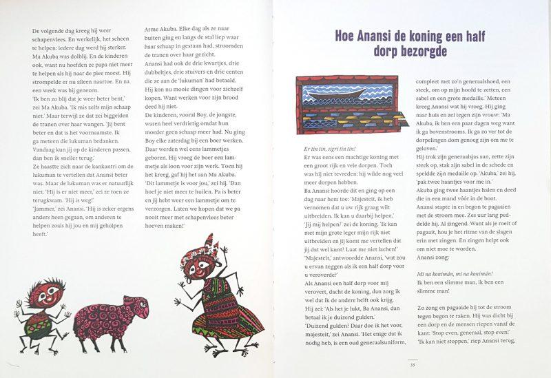 Het grote Anansiboek - Johan Ferrier & Noni Lichtveld