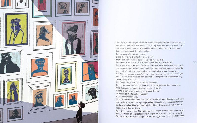 Meneer Droste van het Kinderboekenmuseum - Sjoerd Kuyper & Sylvia Weve
