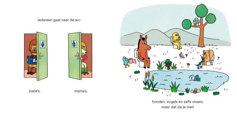 Handboekje voor op het potje gaan - Paule Battault & Anouk Ricard